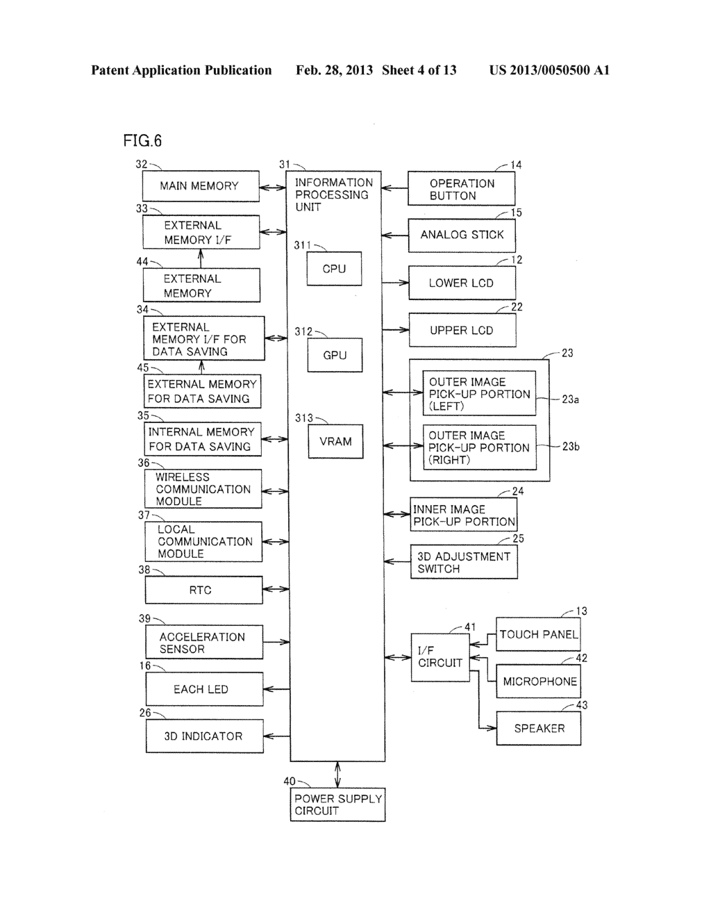 INFORMATION PROCESSING PROGRAM, INFORMATION PROCESSING SYSTEM, INFORMATION     PROCESSING APPARATUS, AND INFORMATION PROCESSING METHOD, UTILIZING     AUGMENTED REALITY TECHNIQUE - diagram, schematic, and image 05
