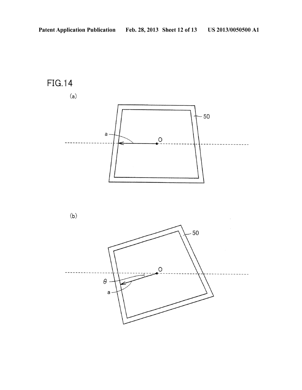INFORMATION PROCESSING PROGRAM, INFORMATION PROCESSING SYSTEM, INFORMATION     PROCESSING APPARATUS, AND INFORMATION PROCESSING METHOD, UTILIZING     AUGMENTED REALITY TECHNIQUE - diagram, schematic, and image 13