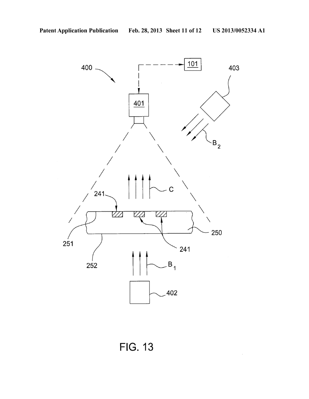 METHOD AND APPARATUS FOR PRINTING A MULTILAYER PATTERN - diagram, schematic, and image 12