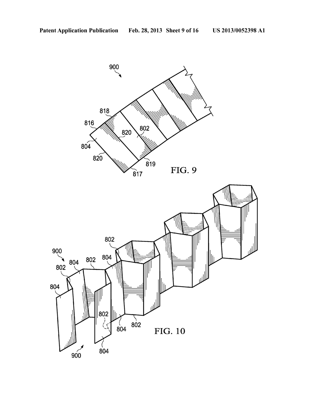 Honeycomb Structure and a Forming Method Thereof - diagram, schematic, and image 10