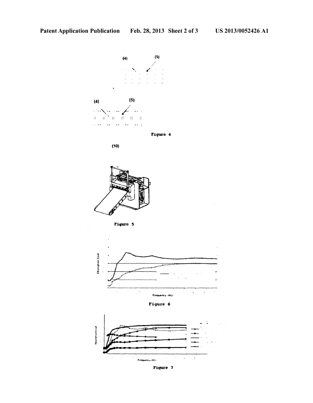 THREE-DIMENSIONAL SHAPED NONWOVEN STRUCTURES FOR ACOUSTIC INSULATION AND     PRODUCTION METHOD THEREOF - diagram, schematic, and image 03