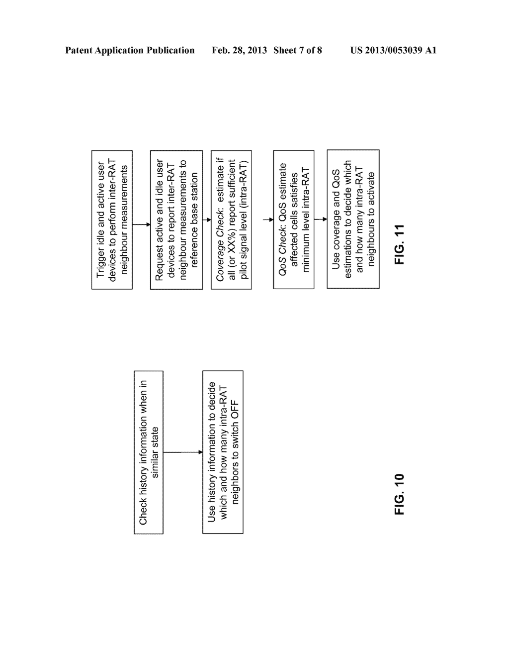 Method and Telecommunications Network for Deactivating or Activating a     Cell in Such a Network - diagram, schematic, and image 08