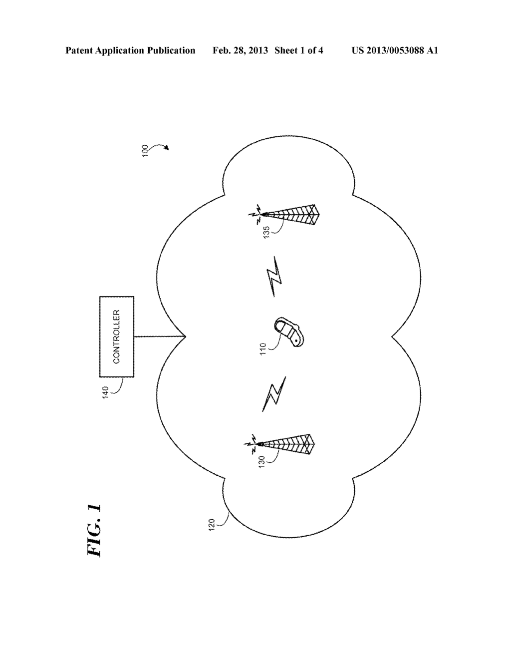 METHOD AND APPARATUS FOR POWER CUTBACK IN A SIMULTANEOUS DUAL FREQUENCY     BAND CALL - diagram, schematic, and image 02