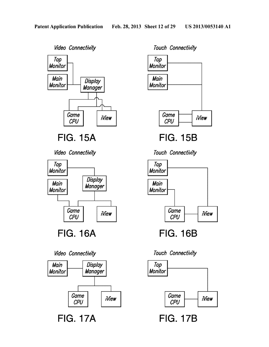 METHOD, APPARATUS AND SYSTEM FOR VIDEO TUNING OF A VIDEO SWITCHING DEVICE     FOR A GAMING MACHINE - diagram, schematic, and image 13