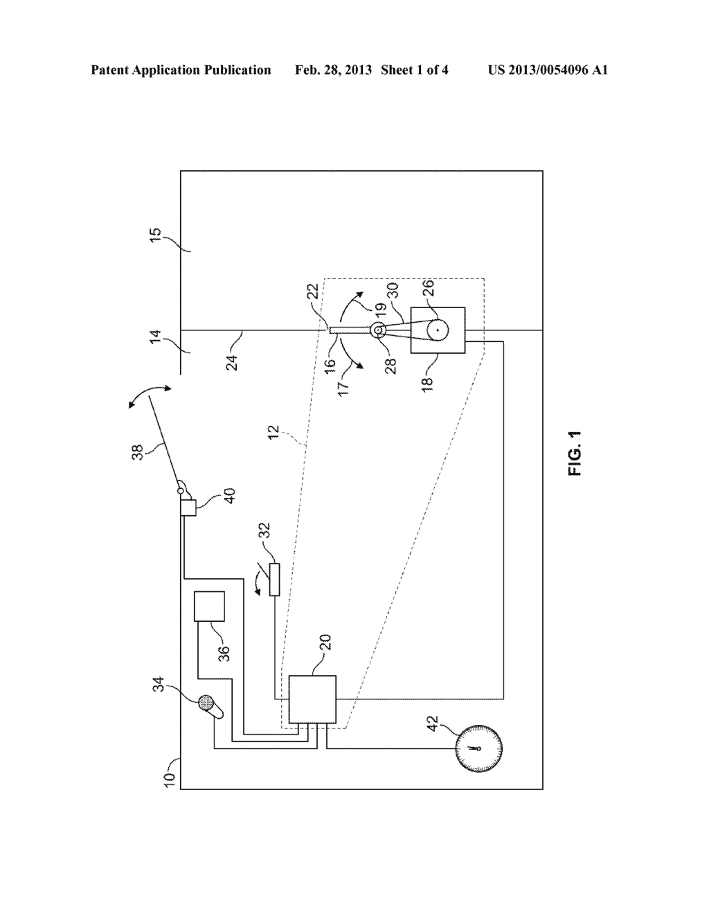 SYSTEM AND METHOD FOR REDUCING A BUFFETING CONDITION IN A PASSENGER     COMPARTMENT OF A VEHICLE - diagram, schematic, and image 02