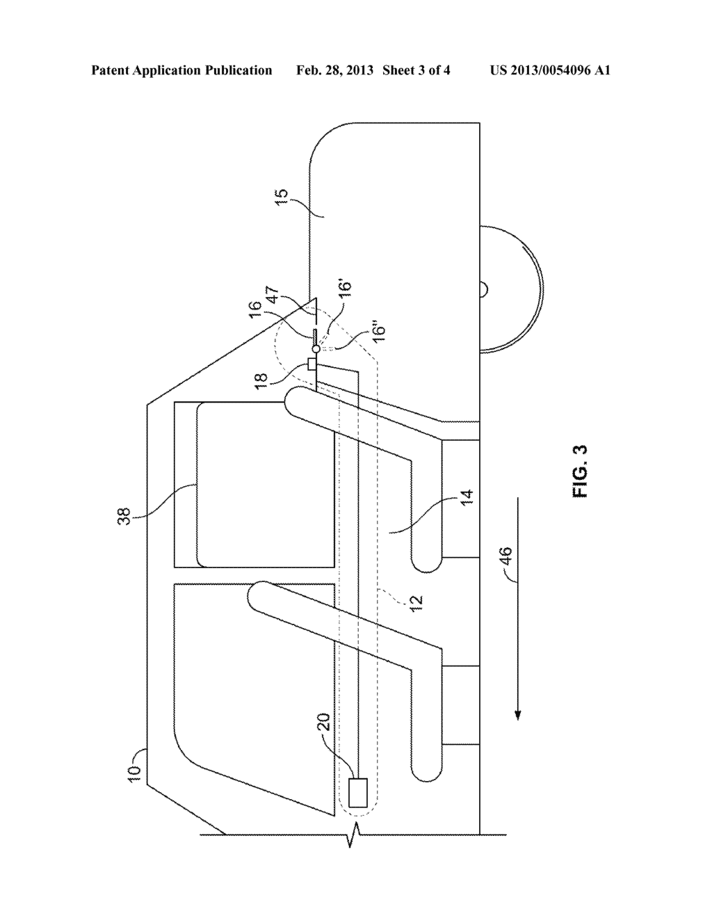 SYSTEM AND METHOD FOR REDUCING A BUFFETING CONDITION IN A PASSENGER     COMPARTMENT OF A VEHICLE - diagram, schematic, and image 04