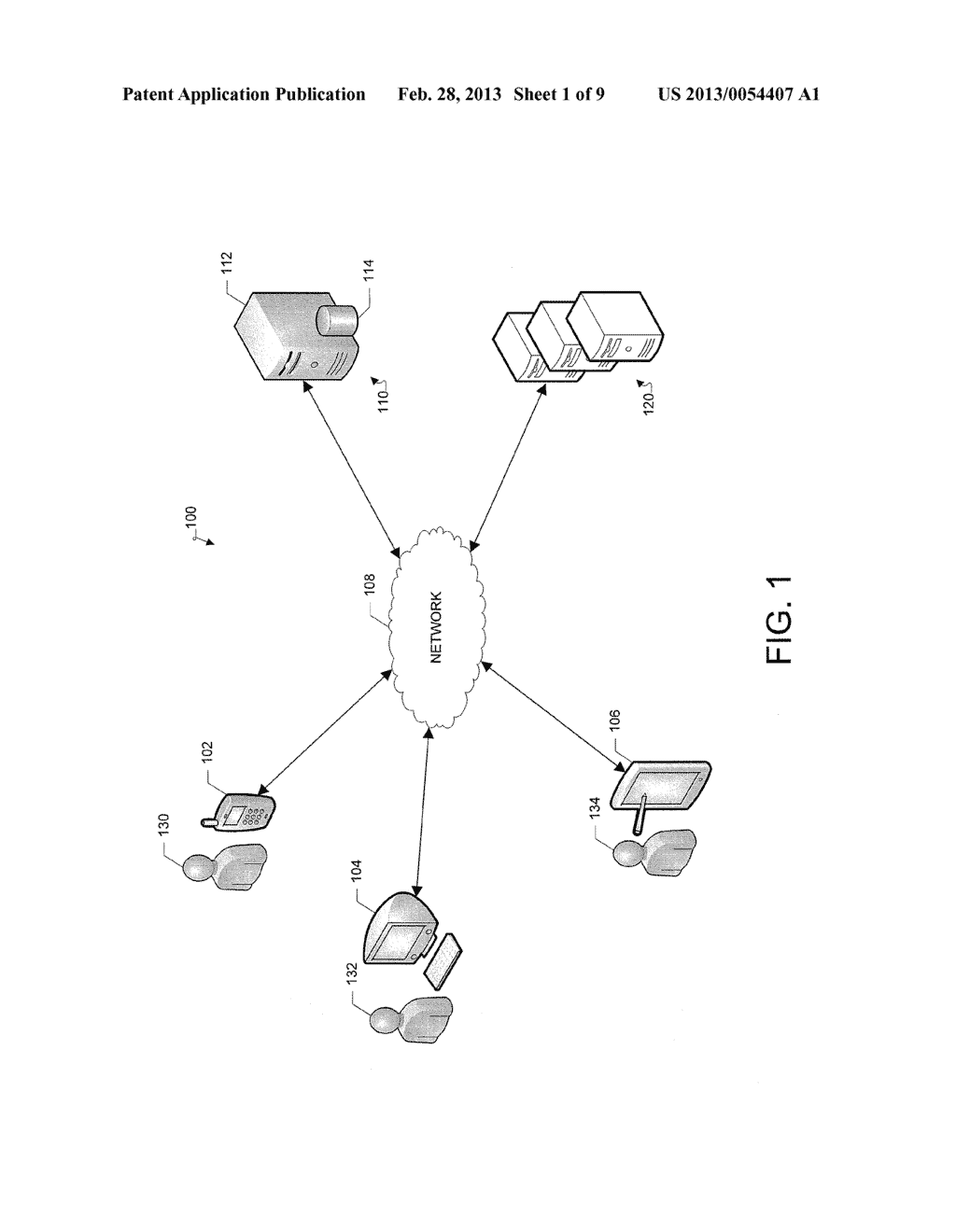 System and Method for Recommending Items to Users Based on Social Graph     Information - diagram, schematic, and image 02