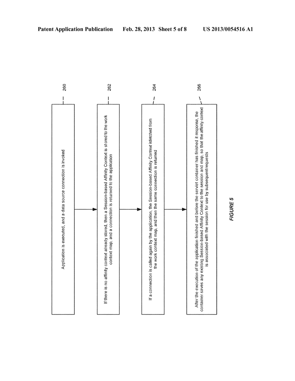 SYSTEM AND METHOD FOR PROVIDING SESSION AFFINITY IN A CLUSTERED DATABASE     ENVIRONMENT - diagram, schematic, and image 06