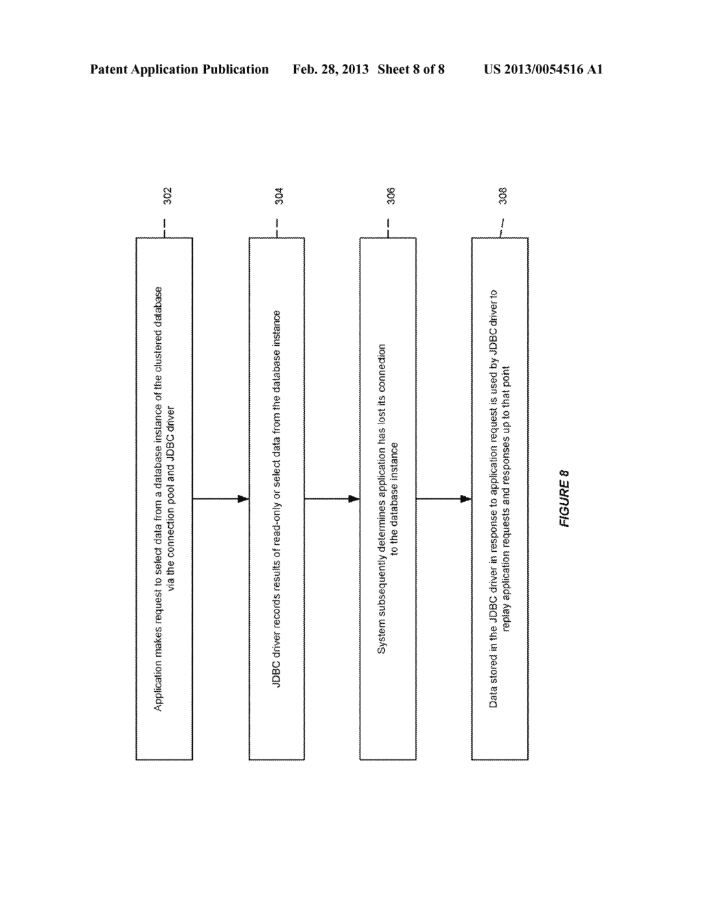 SYSTEM AND METHOD FOR PROVIDING SESSION AFFINITY IN A CLUSTERED DATABASE     ENVIRONMENT - diagram, schematic, and image 09