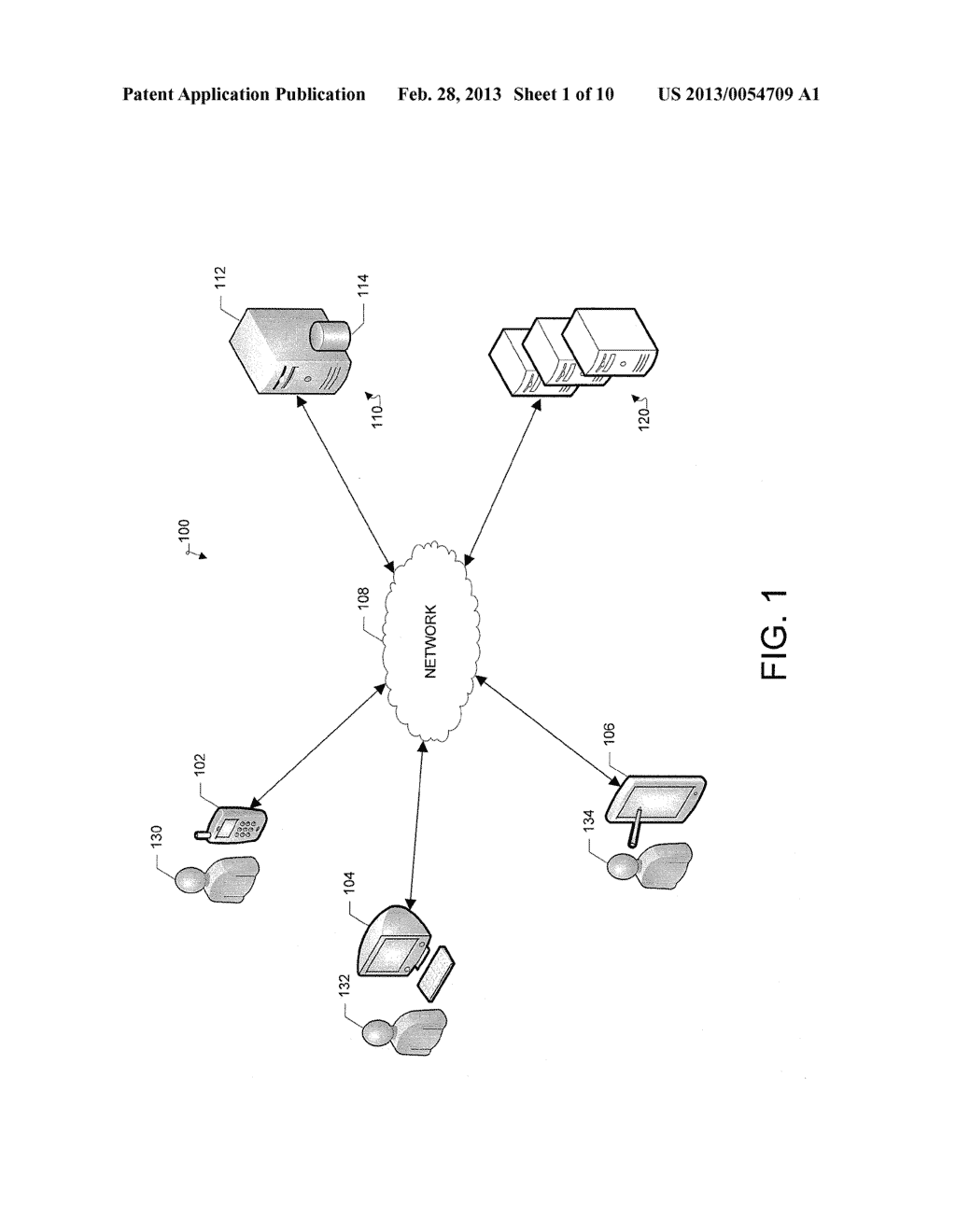 System and Method for Displaying a Belonging-Related Stream - diagram, schematic, and image 02