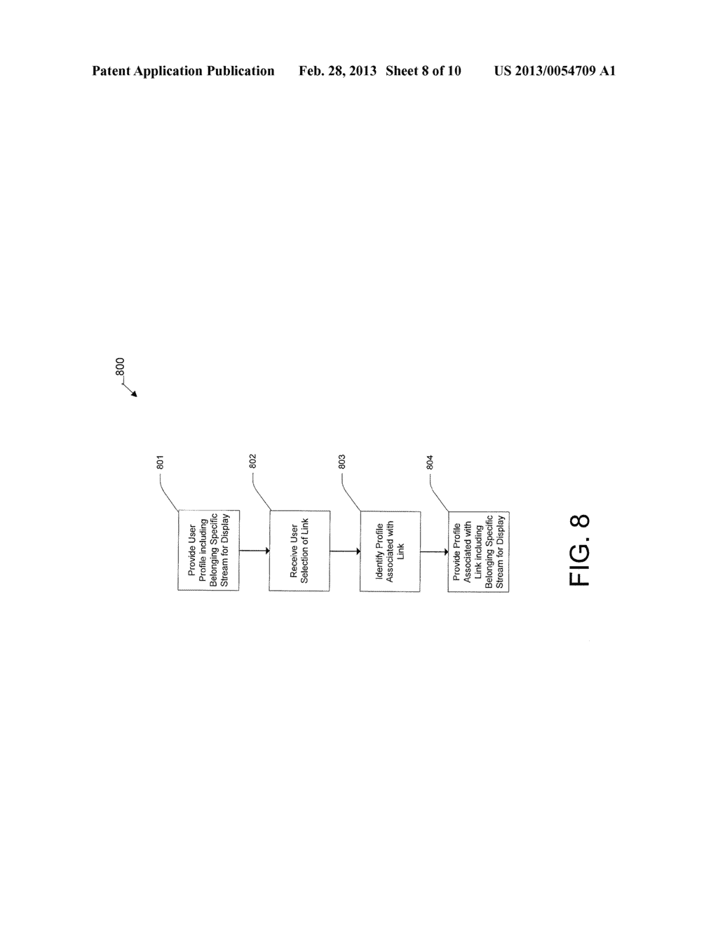System and Method for Displaying a Belonging-Related Stream - diagram, schematic, and image 09