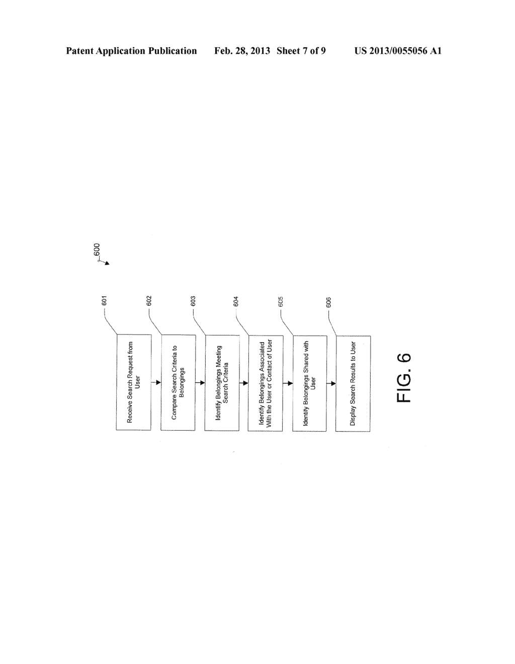 System and Method for Searching Belongings Using Social Graph Information - diagram, schematic, and image 08