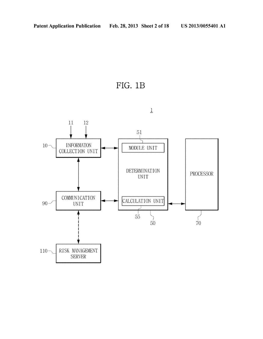 TERMINAL AND METHOD FOR PROVIDING RISK OF APPLICATION USING THE SAME - diagram, schematic, and image 03