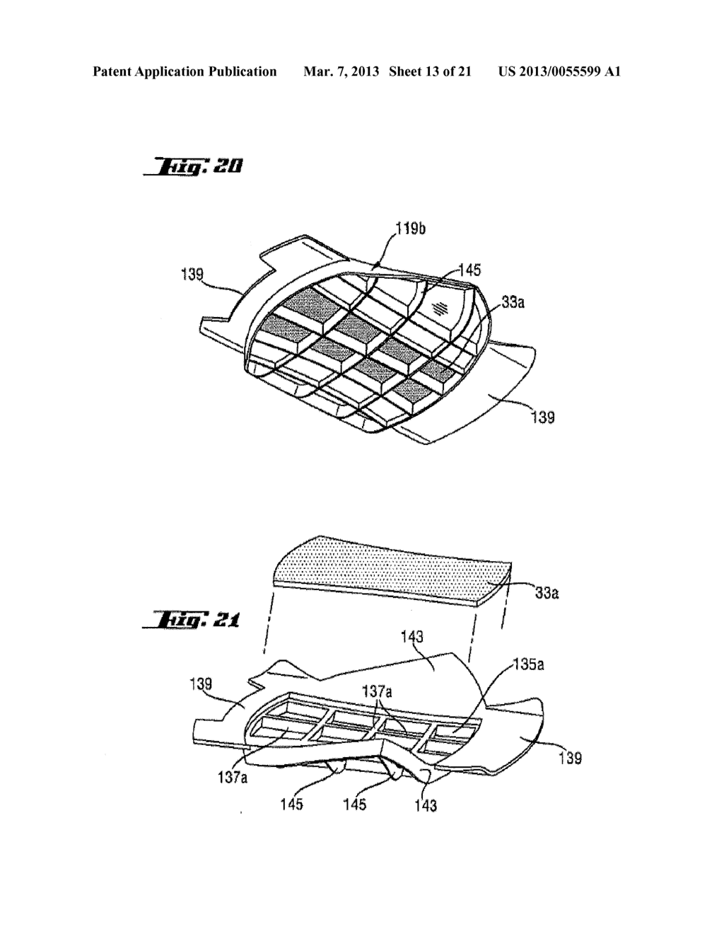Shoe-Reinforcement Material and Barrier Unit, Composite Shoe Sole, and     Footwear Constituted Thereof - diagram, schematic, and image 14