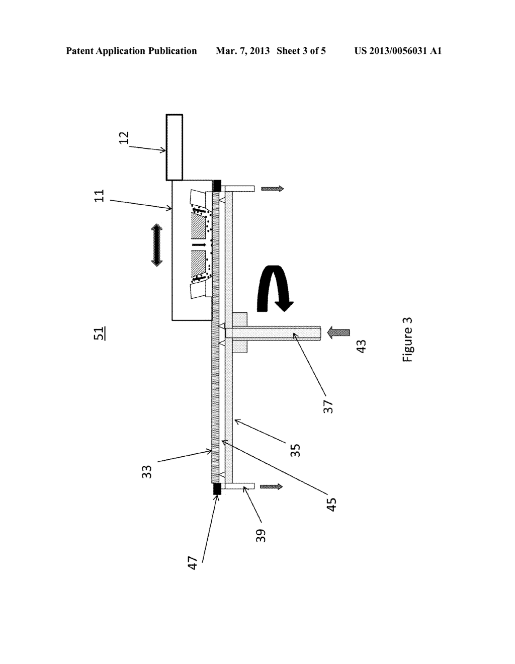 Apparatus and Methods for Movable Megasonic Wafer Probe - diagram, schematic, and image 04