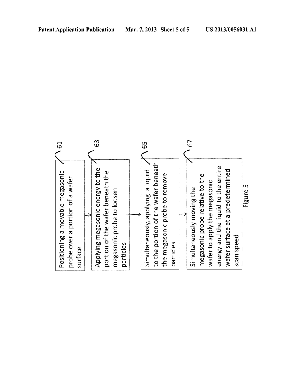 Apparatus and Methods for Movable Megasonic Wafer Probe - diagram, schematic, and image 06