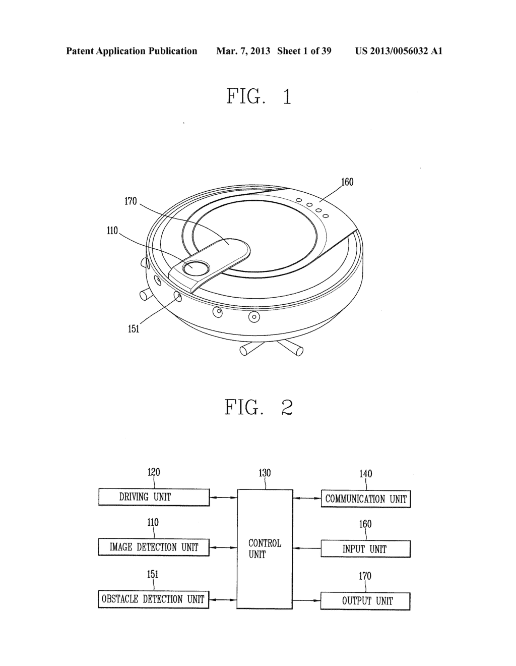 ROBOT CLEANER, AND SYSTEM AND METHOD FOR REMOTELY CONTROLLING THE SAME - diagram, schematic, and image 02