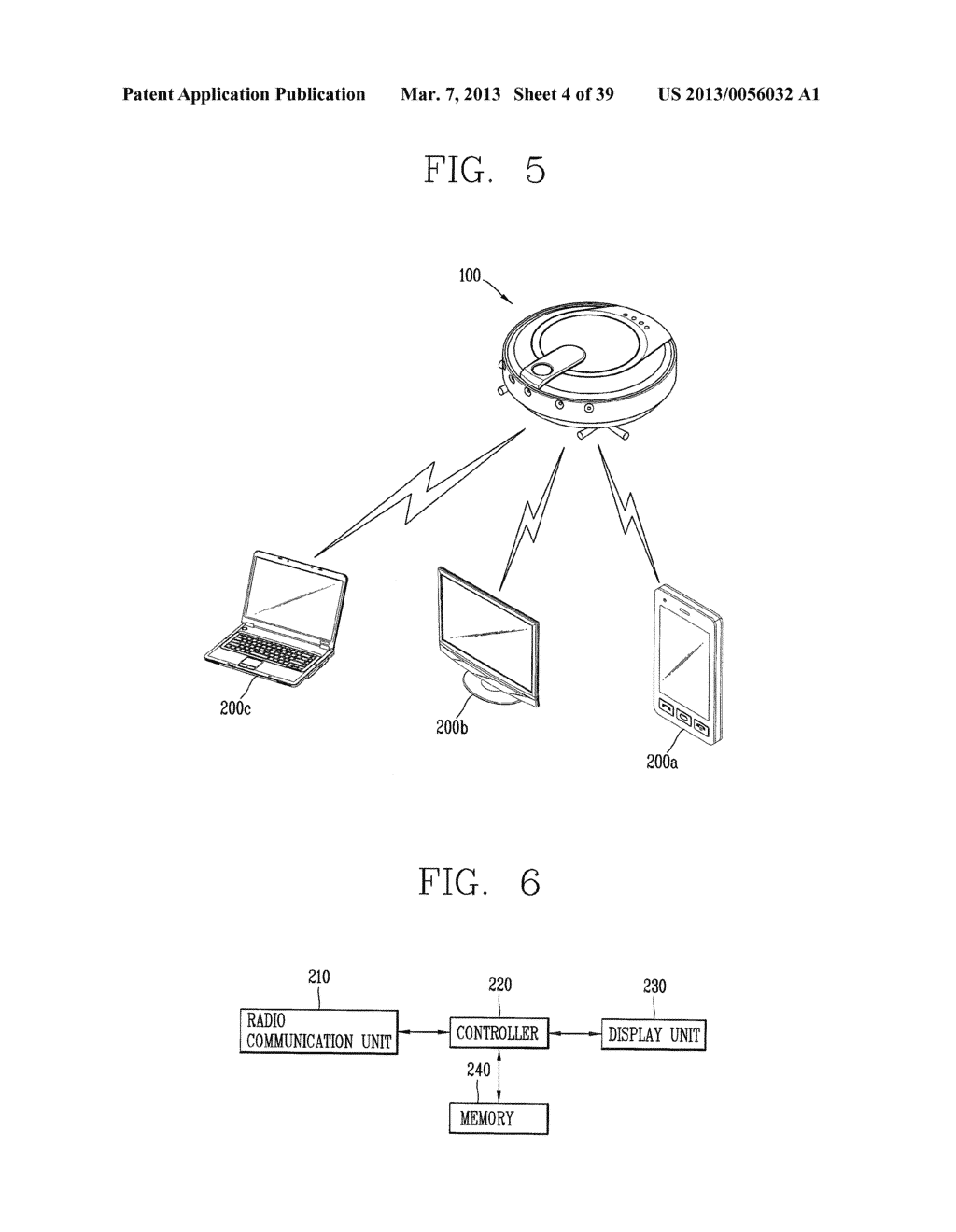 ROBOT CLEANER, AND SYSTEM AND METHOD FOR REMOTELY CONTROLLING THE SAME - diagram, schematic, and image 05