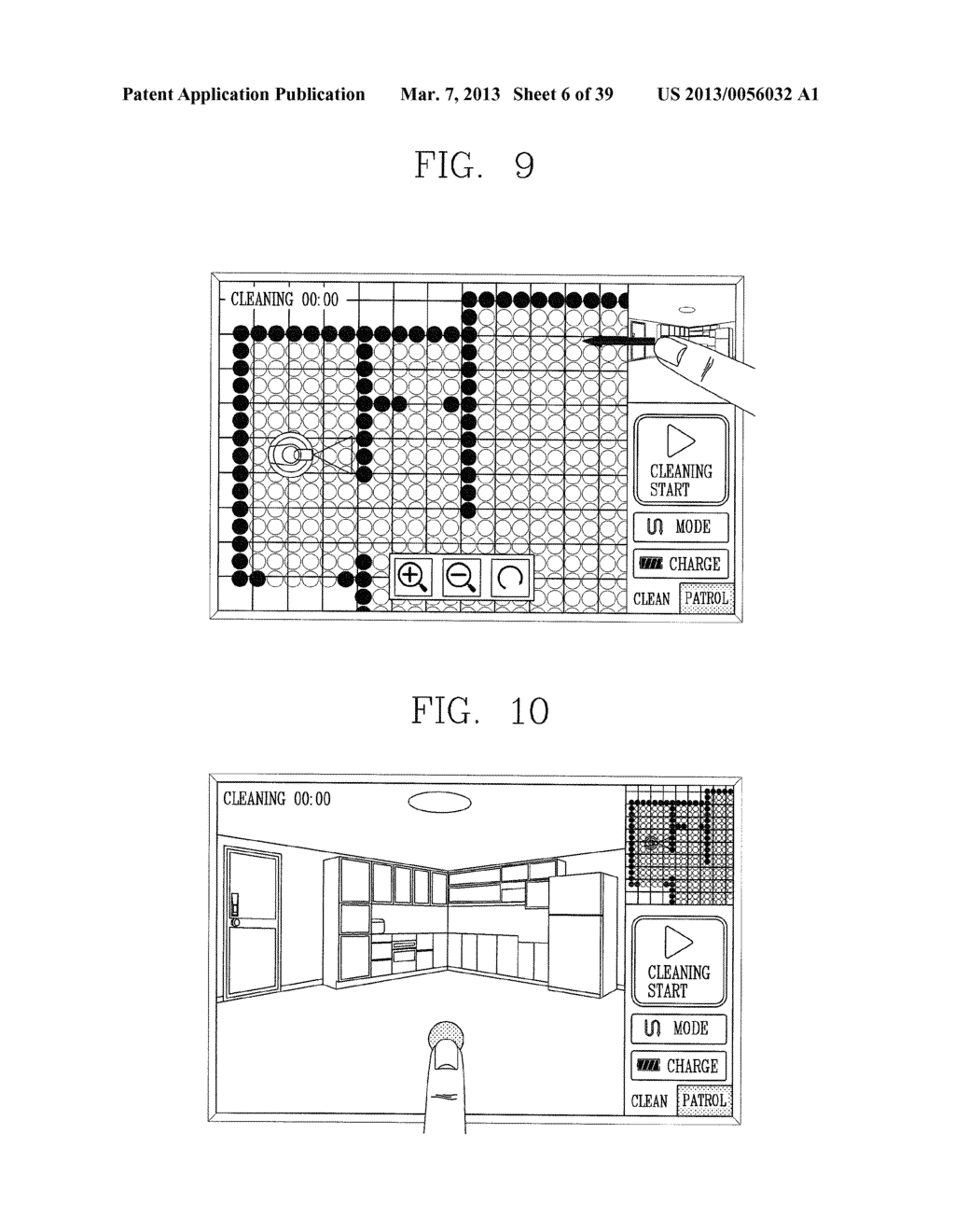 ROBOT CLEANER, AND SYSTEM AND METHOD FOR REMOTELY CONTROLLING THE SAME - diagram, schematic, and image 07