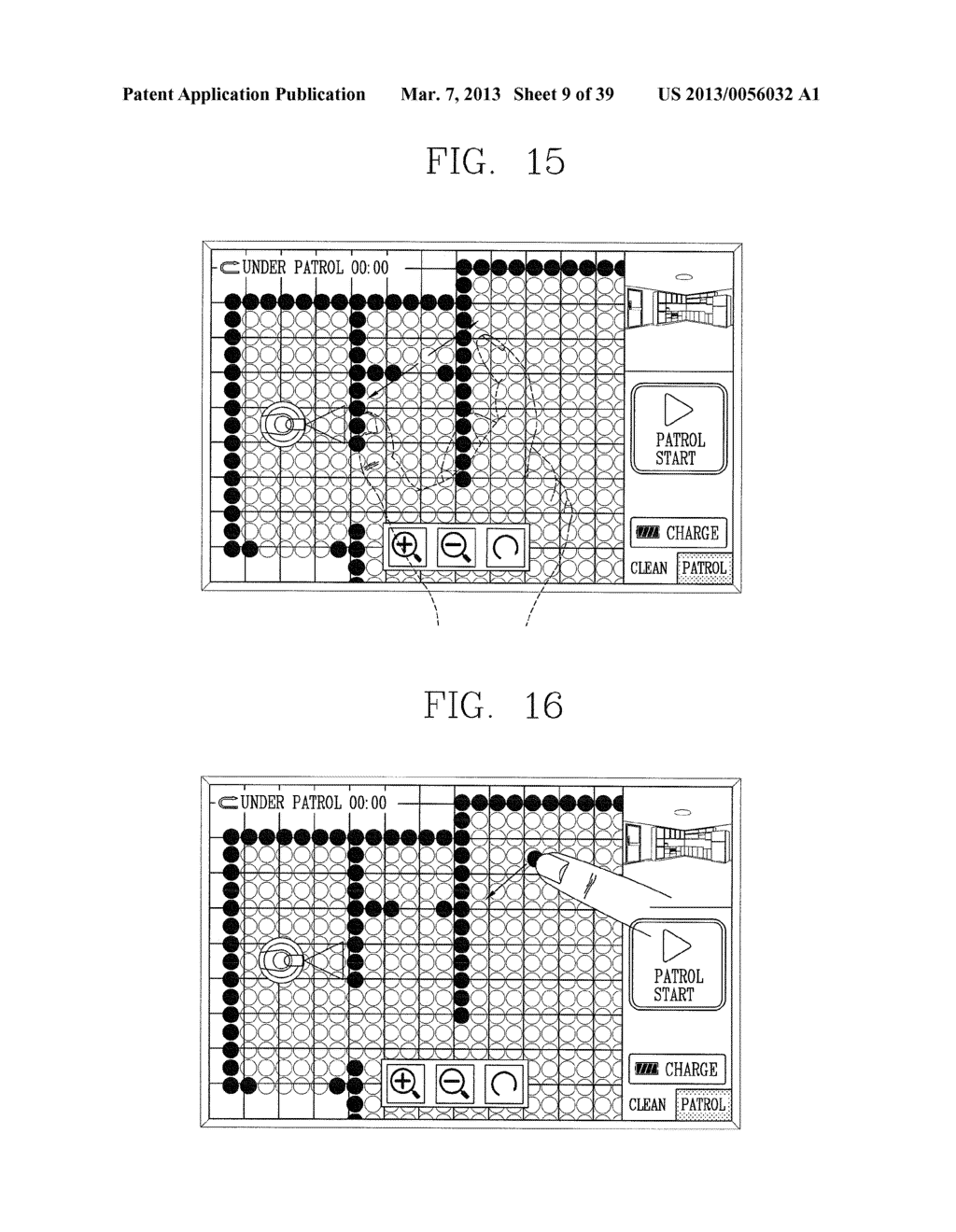 ROBOT CLEANER, AND SYSTEM AND METHOD FOR REMOTELY CONTROLLING THE SAME - diagram, schematic, and image 10