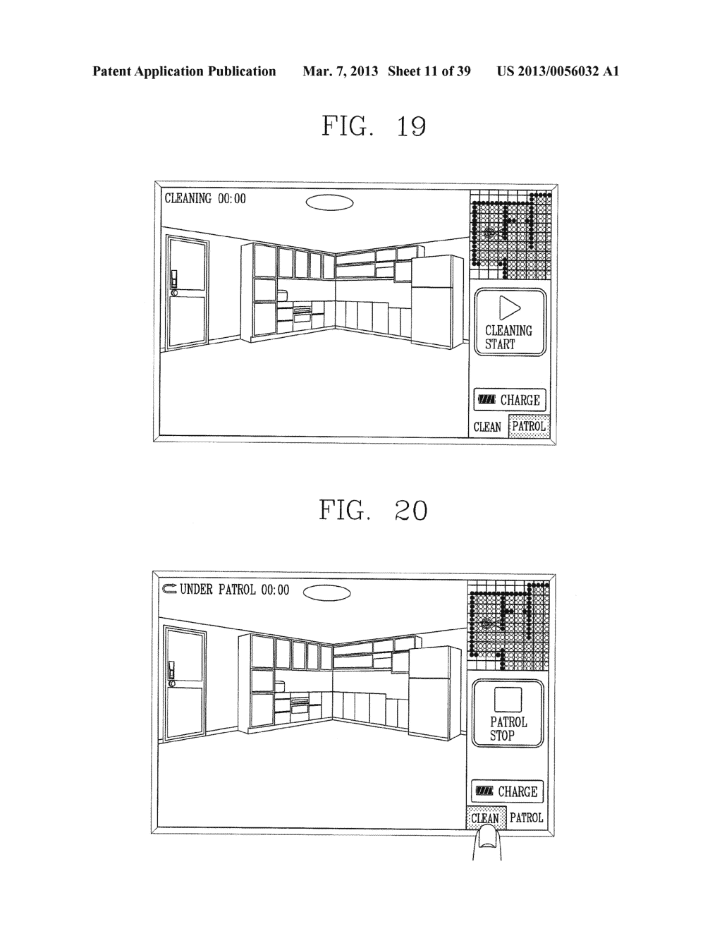 ROBOT CLEANER, AND SYSTEM AND METHOD FOR REMOTELY CONTROLLING THE SAME - diagram, schematic, and image 12