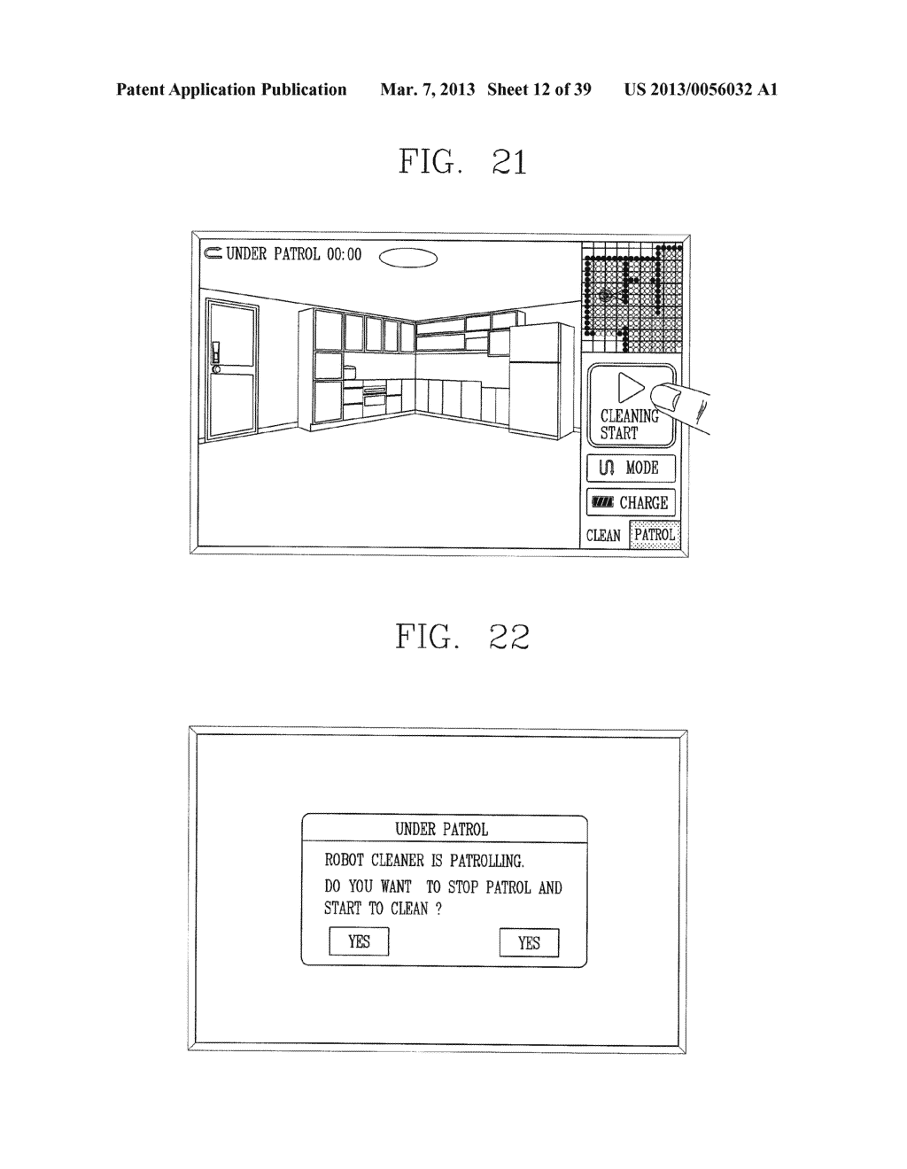 ROBOT CLEANER, AND SYSTEM AND METHOD FOR REMOTELY CONTROLLING THE SAME - diagram, schematic, and image 13
