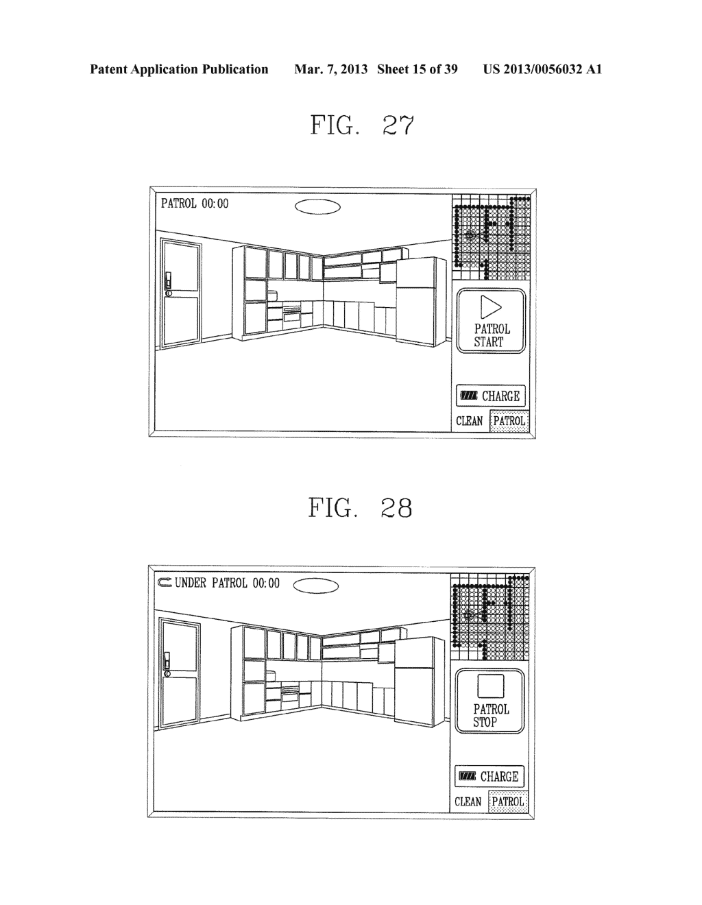 ROBOT CLEANER, AND SYSTEM AND METHOD FOR REMOTELY CONTROLLING THE SAME - diagram, schematic, and image 16