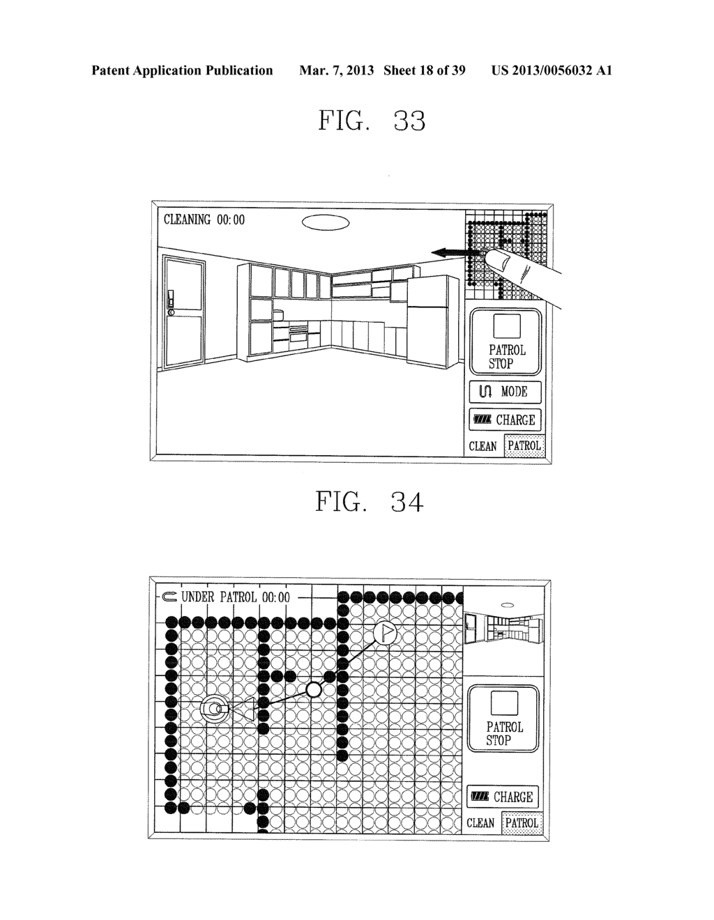 ROBOT CLEANER, AND SYSTEM AND METHOD FOR REMOTELY CONTROLLING THE SAME - diagram, schematic, and image 19
