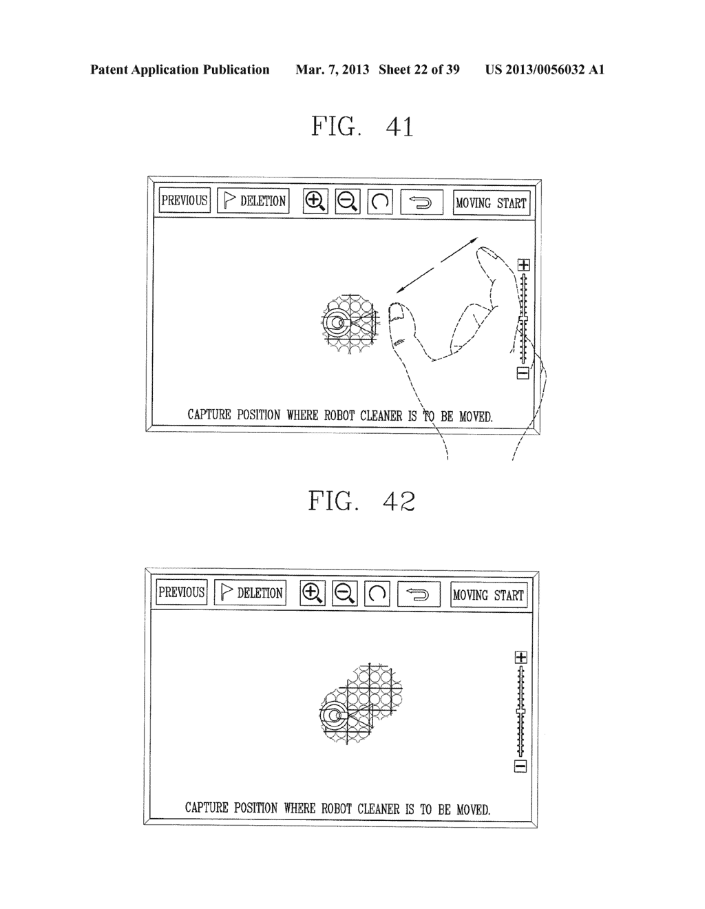 ROBOT CLEANER, AND SYSTEM AND METHOD FOR REMOTELY CONTROLLING THE SAME - diagram, schematic, and image 23