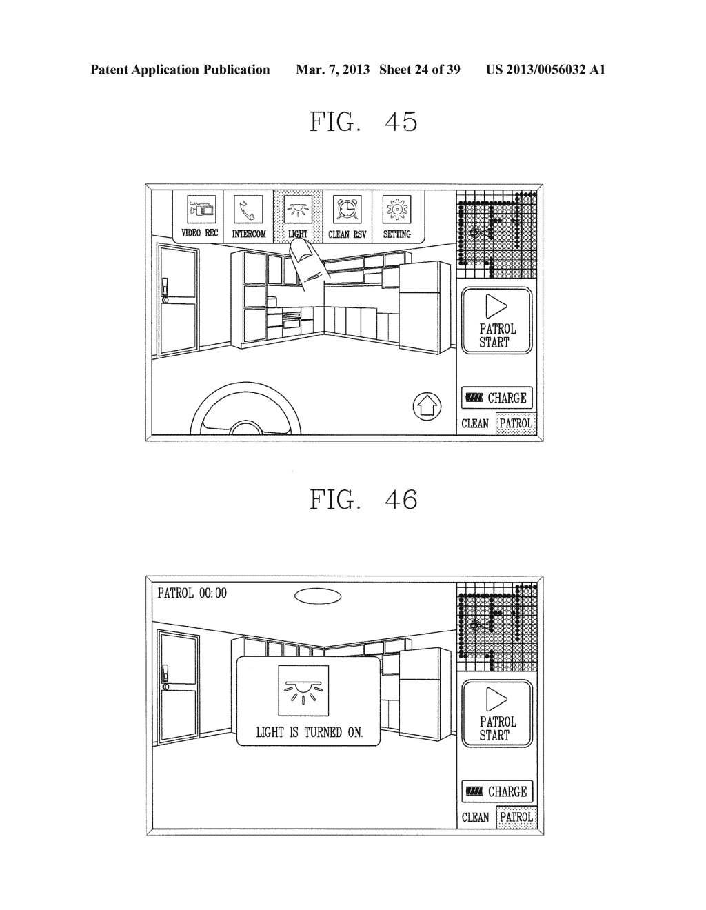 ROBOT CLEANER, AND SYSTEM AND METHOD FOR REMOTELY CONTROLLING THE SAME - diagram, schematic, and image 25
