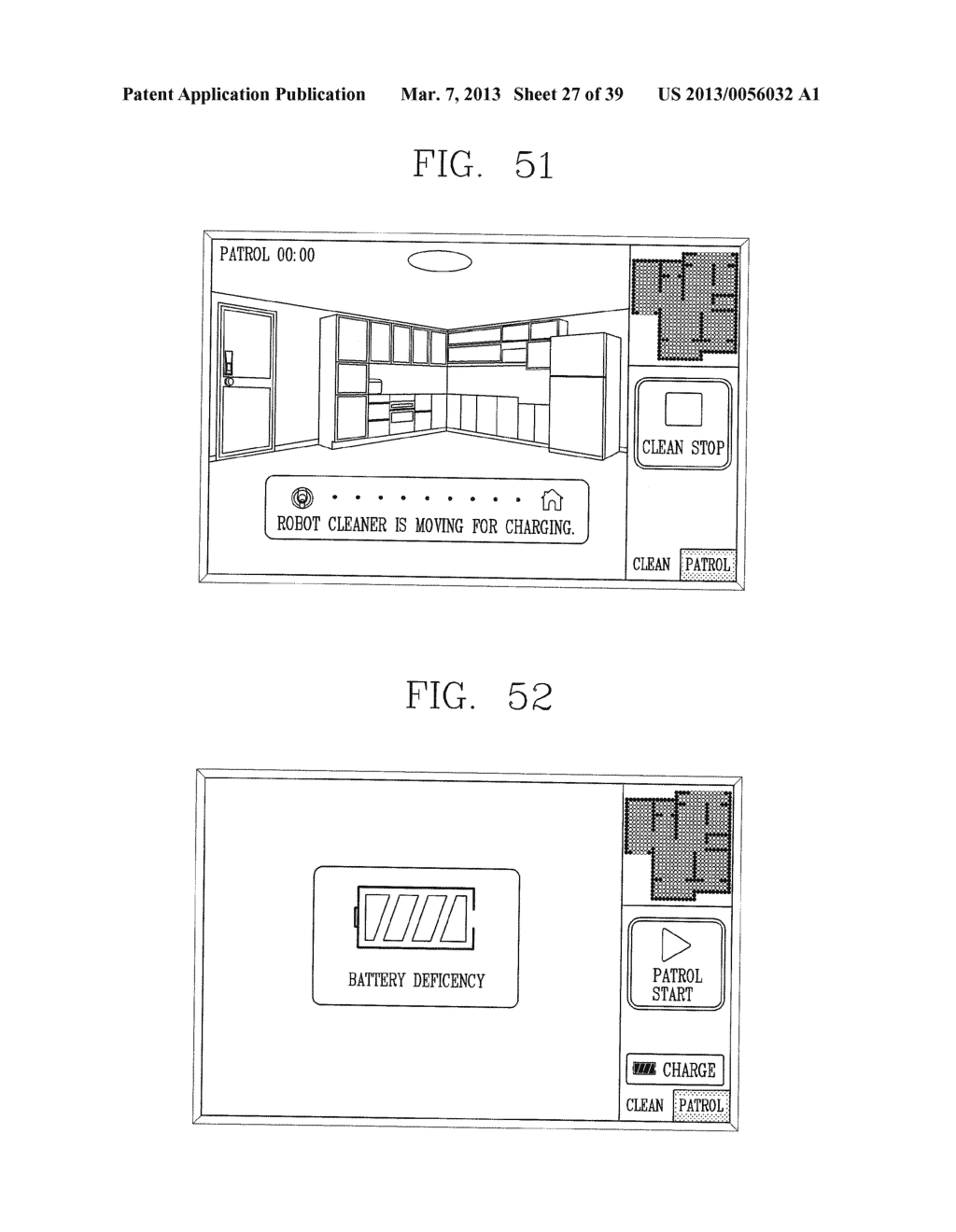 ROBOT CLEANER, AND SYSTEM AND METHOD FOR REMOTELY CONTROLLING THE SAME - diagram, schematic, and image 28