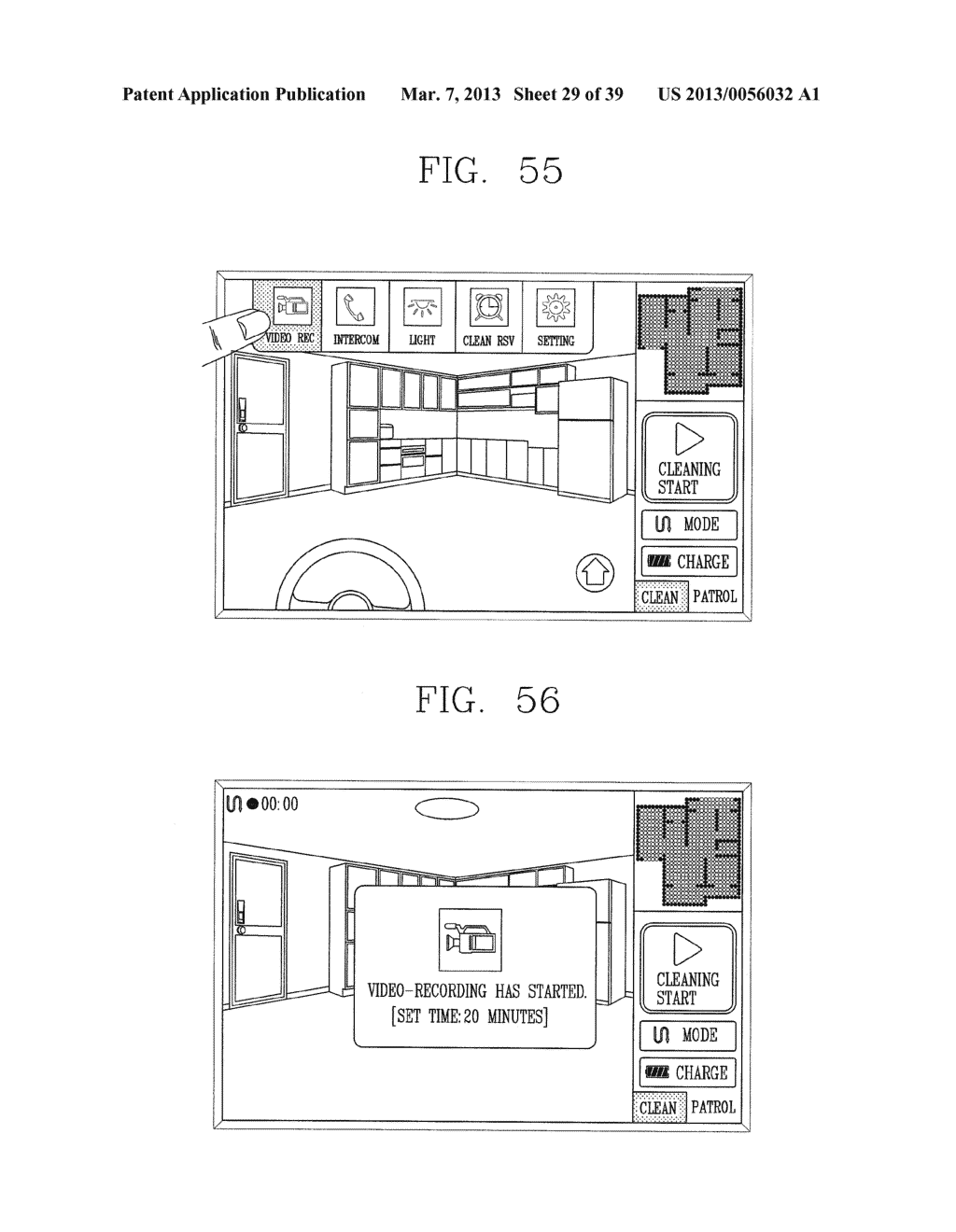 ROBOT CLEANER, AND SYSTEM AND METHOD FOR REMOTELY CONTROLLING THE SAME - diagram, schematic, and image 30