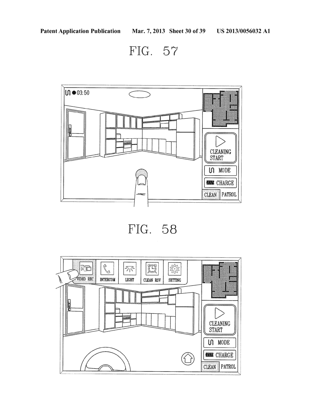 ROBOT CLEANER, AND SYSTEM AND METHOD FOR REMOTELY CONTROLLING THE SAME - diagram, schematic, and image 31