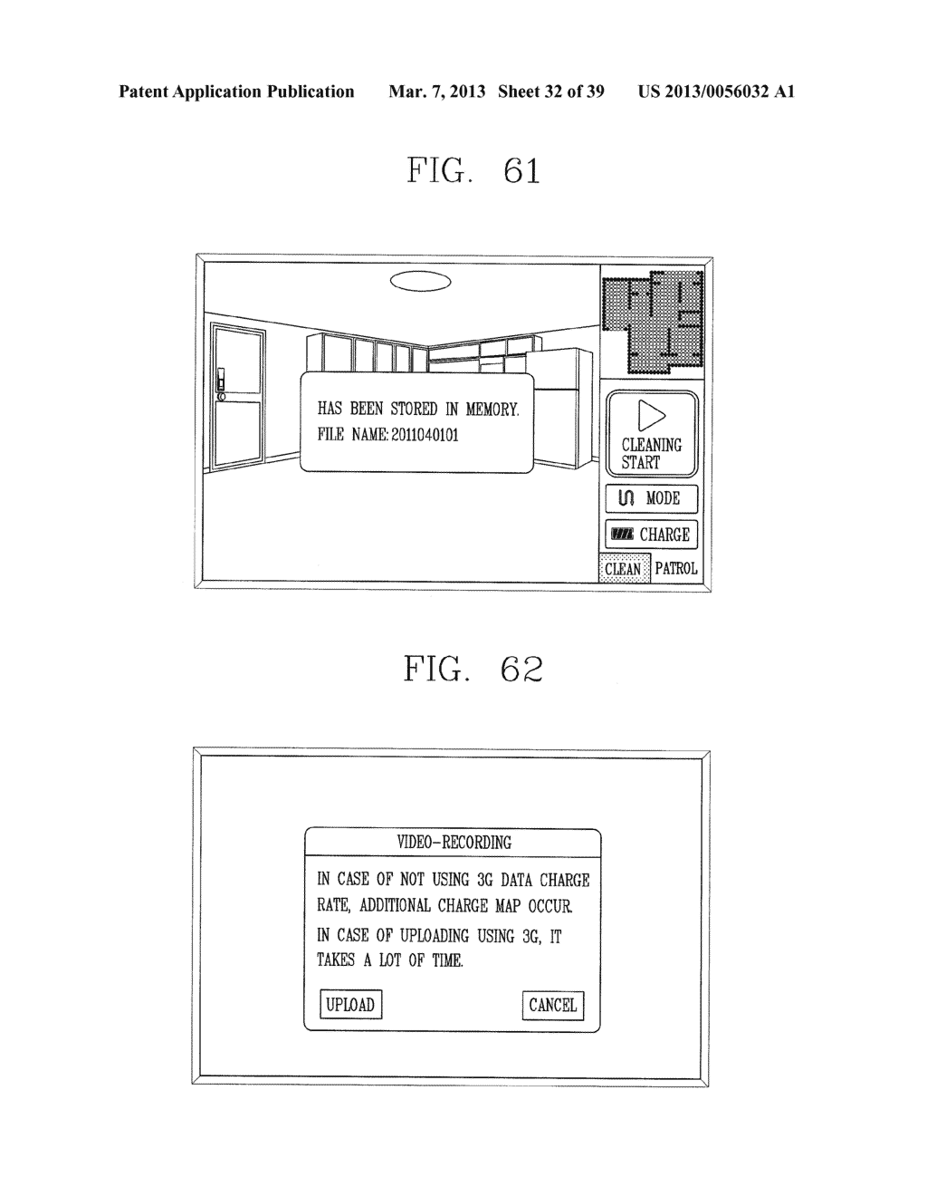 ROBOT CLEANER, AND SYSTEM AND METHOD FOR REMOTELY CONTROLLING THE SAME - diagram, schematic, and image 33