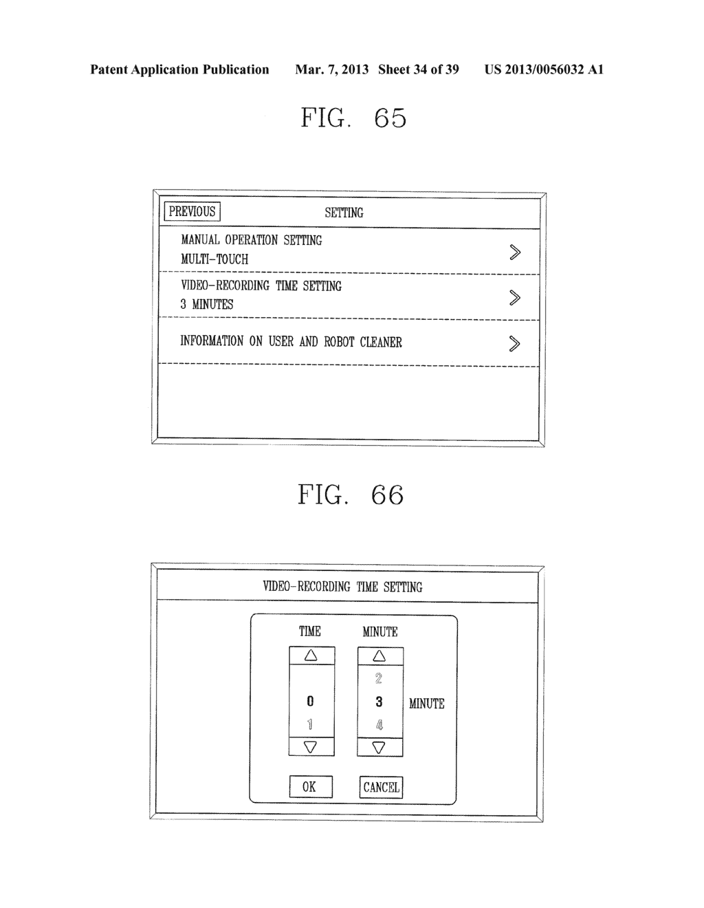 ROBOT CLEANER, AND SYSTEM AND METHOD FOR REMOTELY CONTROLLING THE SAME - diagram, schematic, and image 35