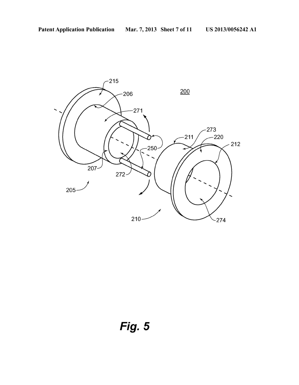 ARM ATTACHMENT BUSHING ASSEMBLY AND METHOD OF USING SAME - diagram, schematic, and image 08