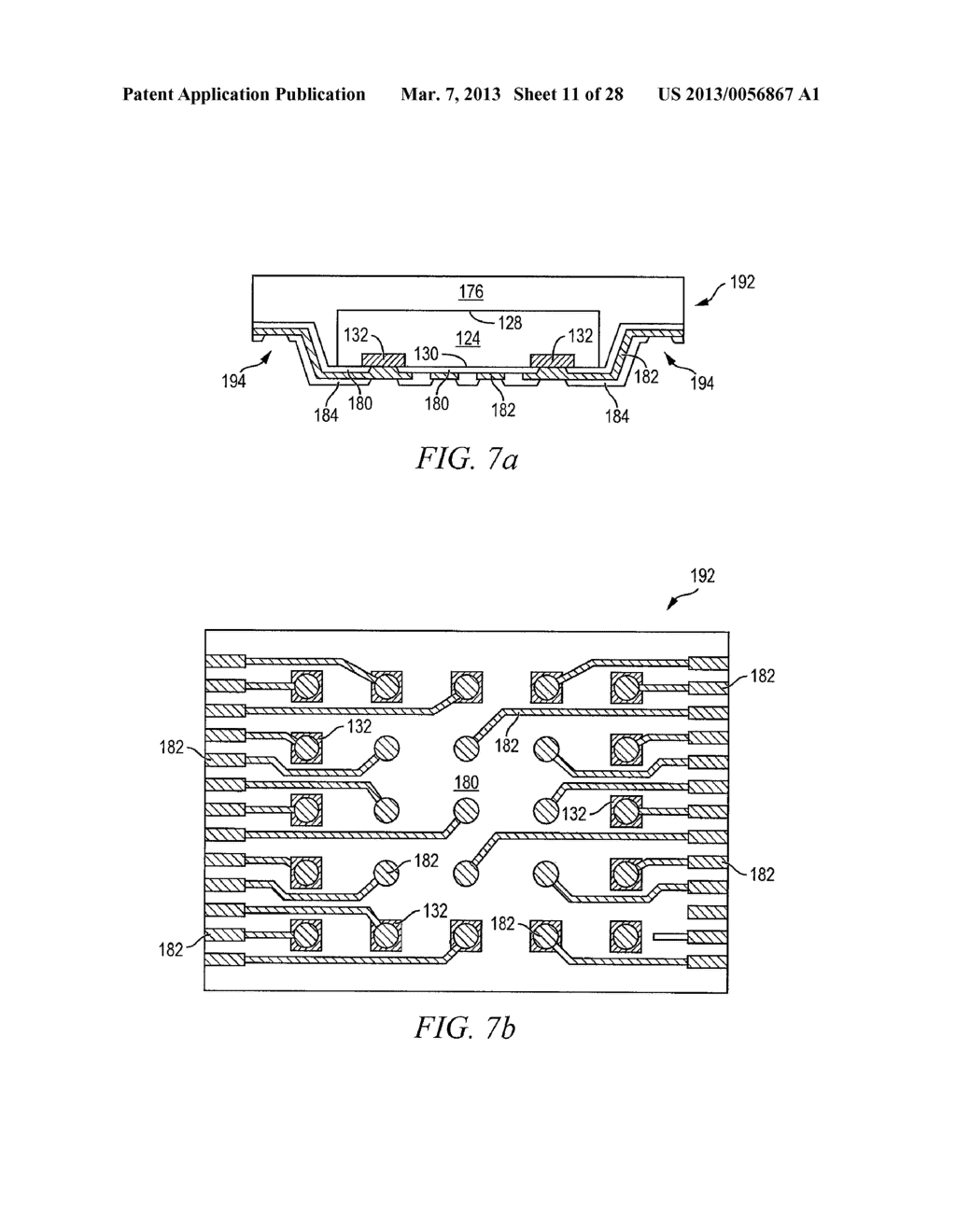 Semiconductor device and method of forming FO-WLCSP with recessed     interconnect area in peripheralregion of semiconductor die - diagram, schematic, and image 12