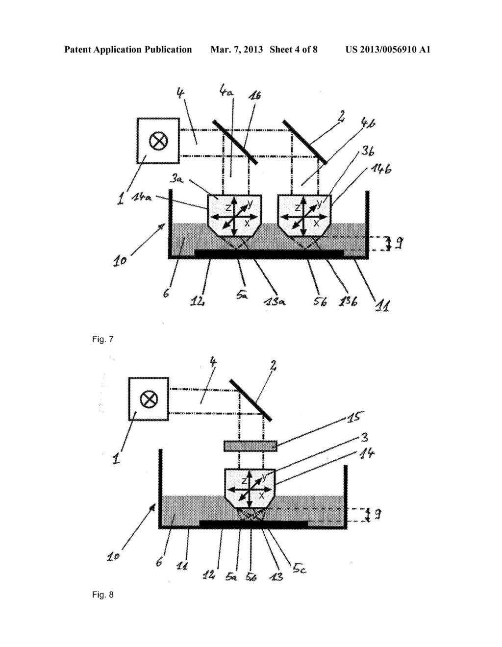 DEVICE AND METHOD FOR PRODUCING THREE-DIMENSIONAL STRUCTURES - diagram, schematic, and image 05