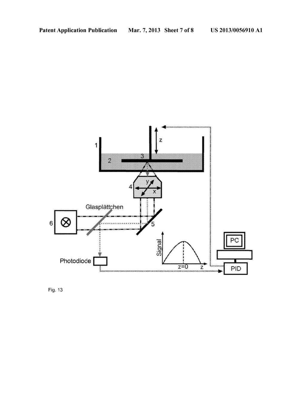 DEVICE AND METHOD FOR PRODUCING THREE-DIMENSIONAL STRUCTURES - diagram, schematic, and image 08