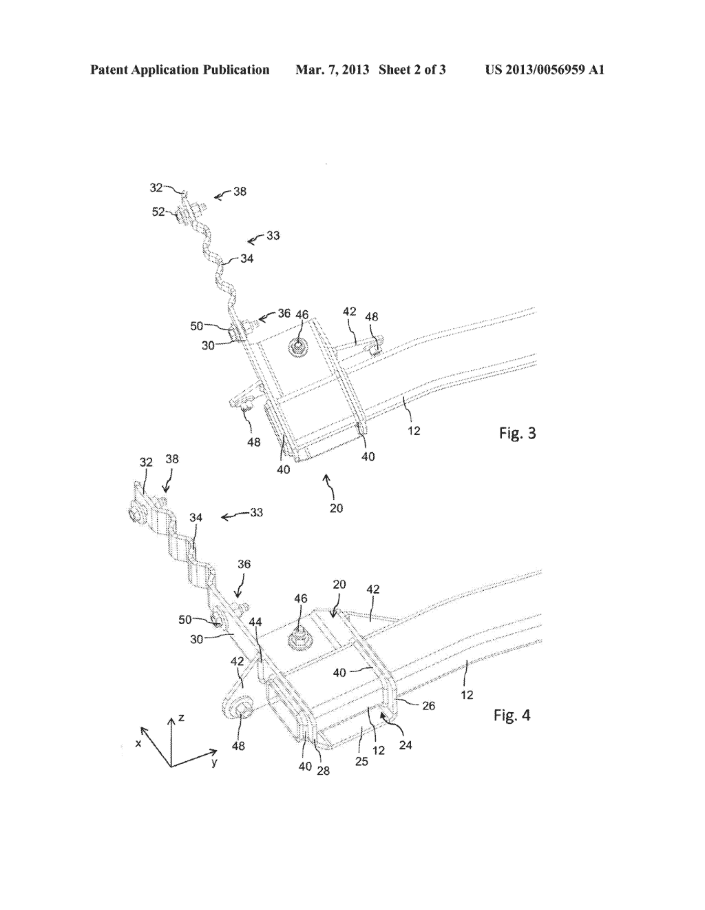 REAR ATTACHMENT UNIT FOR A MOTOR VEHICLE - diagram, schematic, and image 03