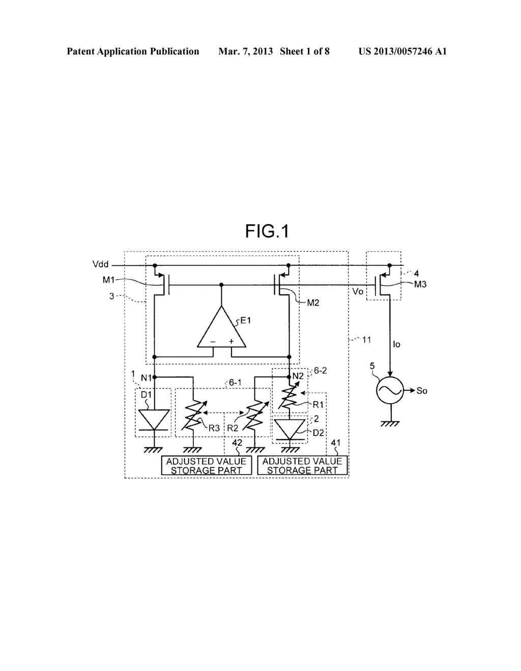 REFERENCE SIGNAL GENERATING CIRCUIT - diagram, schematic, and image 02