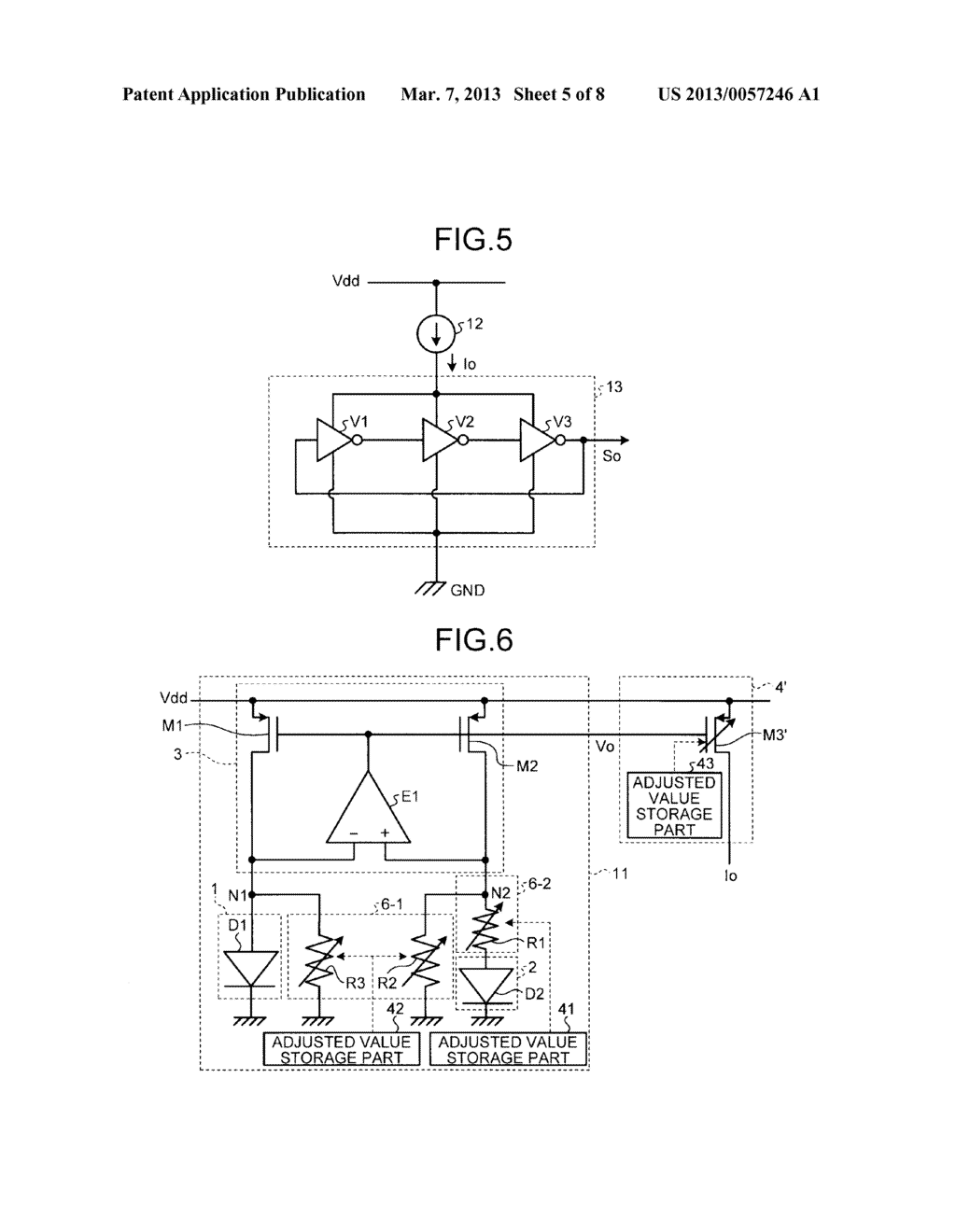 REFERENCE SIGNAL GENERATING CIRCUIT - diagram, schematic, and image 06