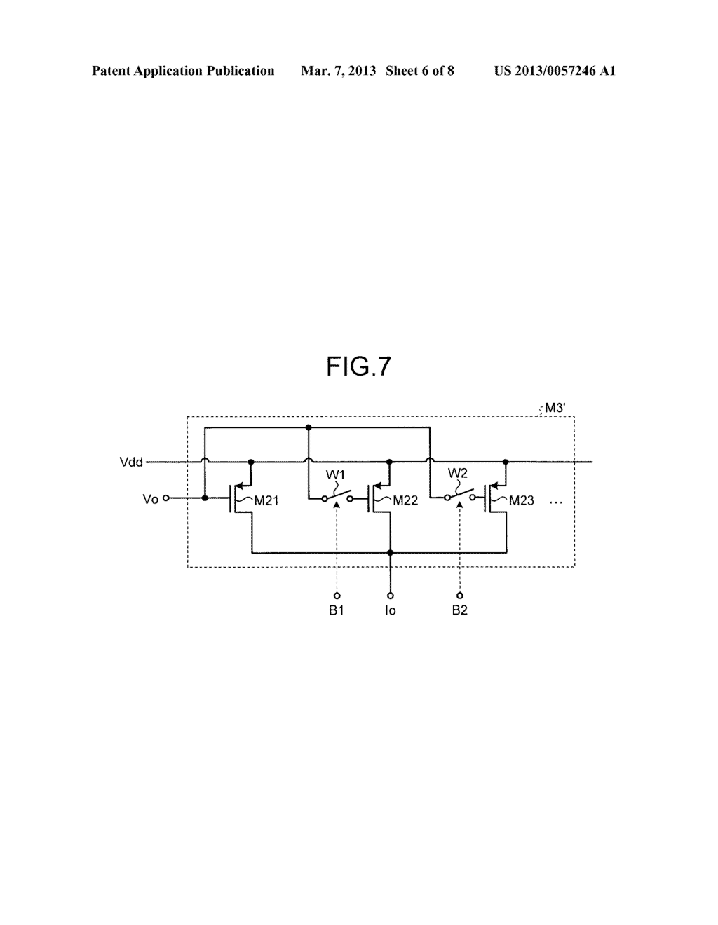 REFERENCE SIGNAL GENERATING CIRCUIT - diagram, schematic, and image 07