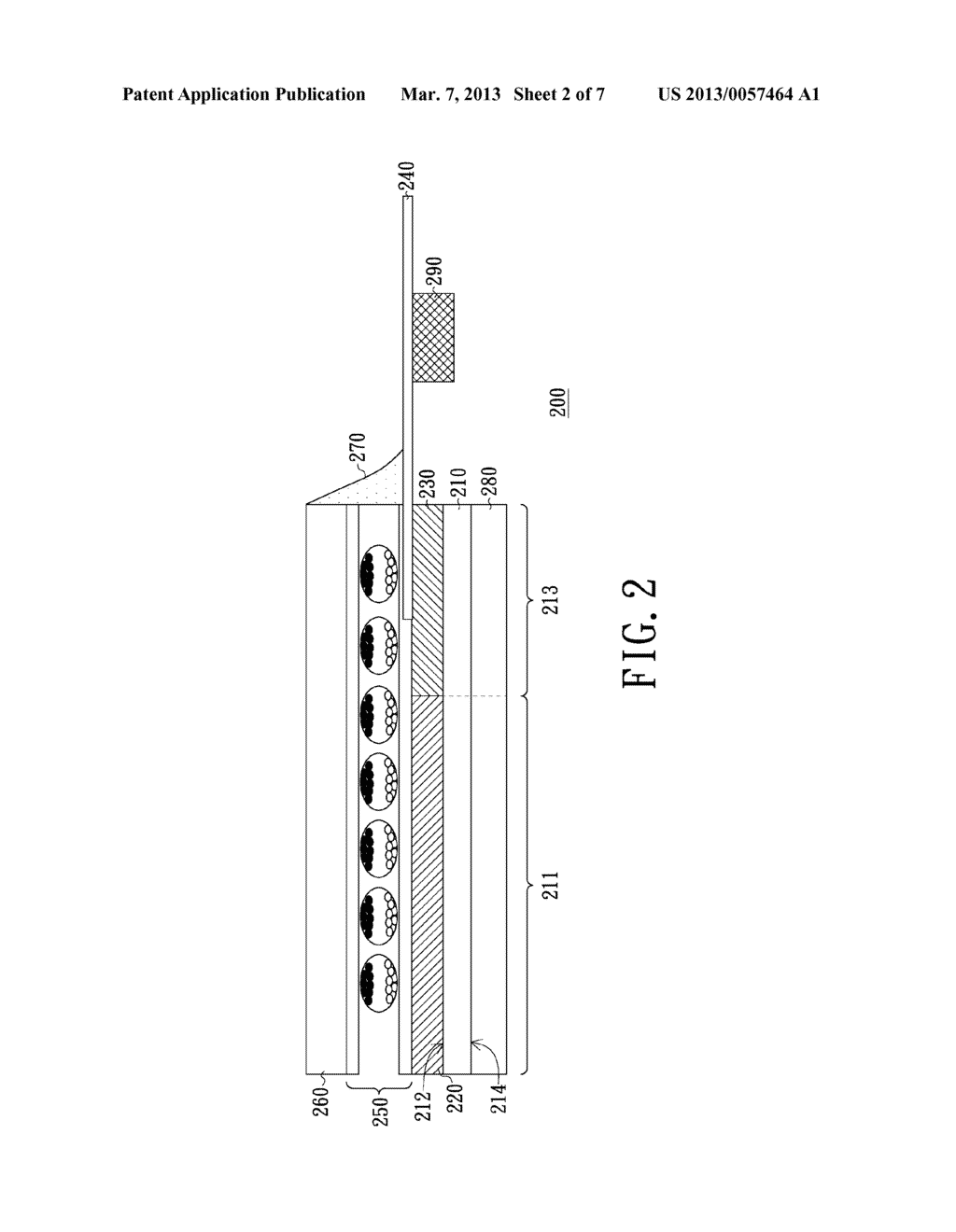 ELECTRO-PHORETIC DISPLAY DEVICE AND FABRICATING METHOD THEREOF - diagram, schematic, and image 03
