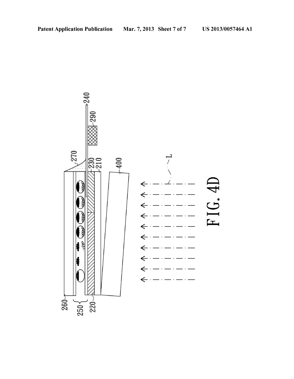 ELECTRO-PHORETIC DISPLAY DEVICE AND FABRICATING METHOD THEREOF - diagram, schematic, and image 08