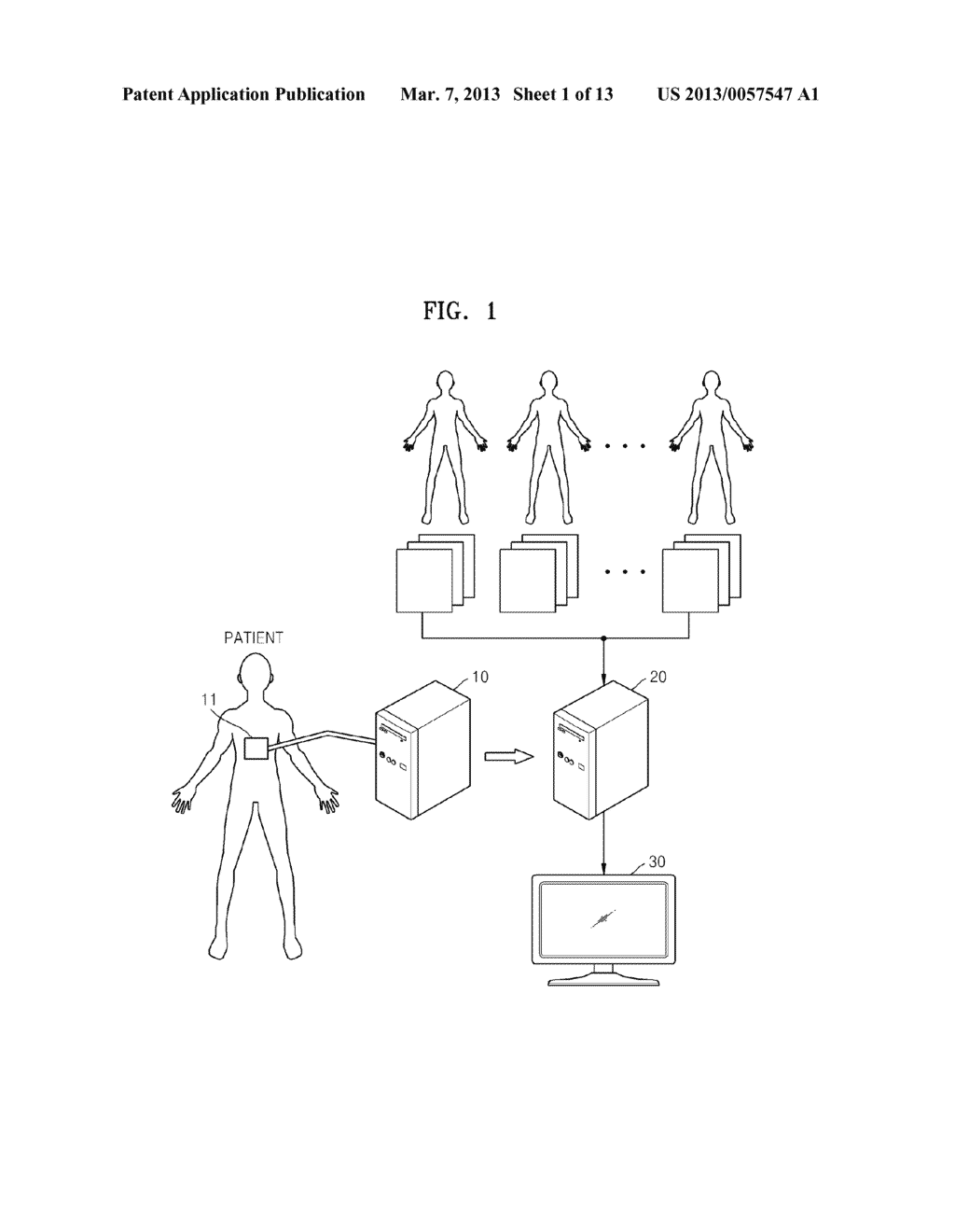 METHOD AND APPARATUS FOR GENERATING AN IMAGE OF AN ORGAN - diagram, schematic, and image 02