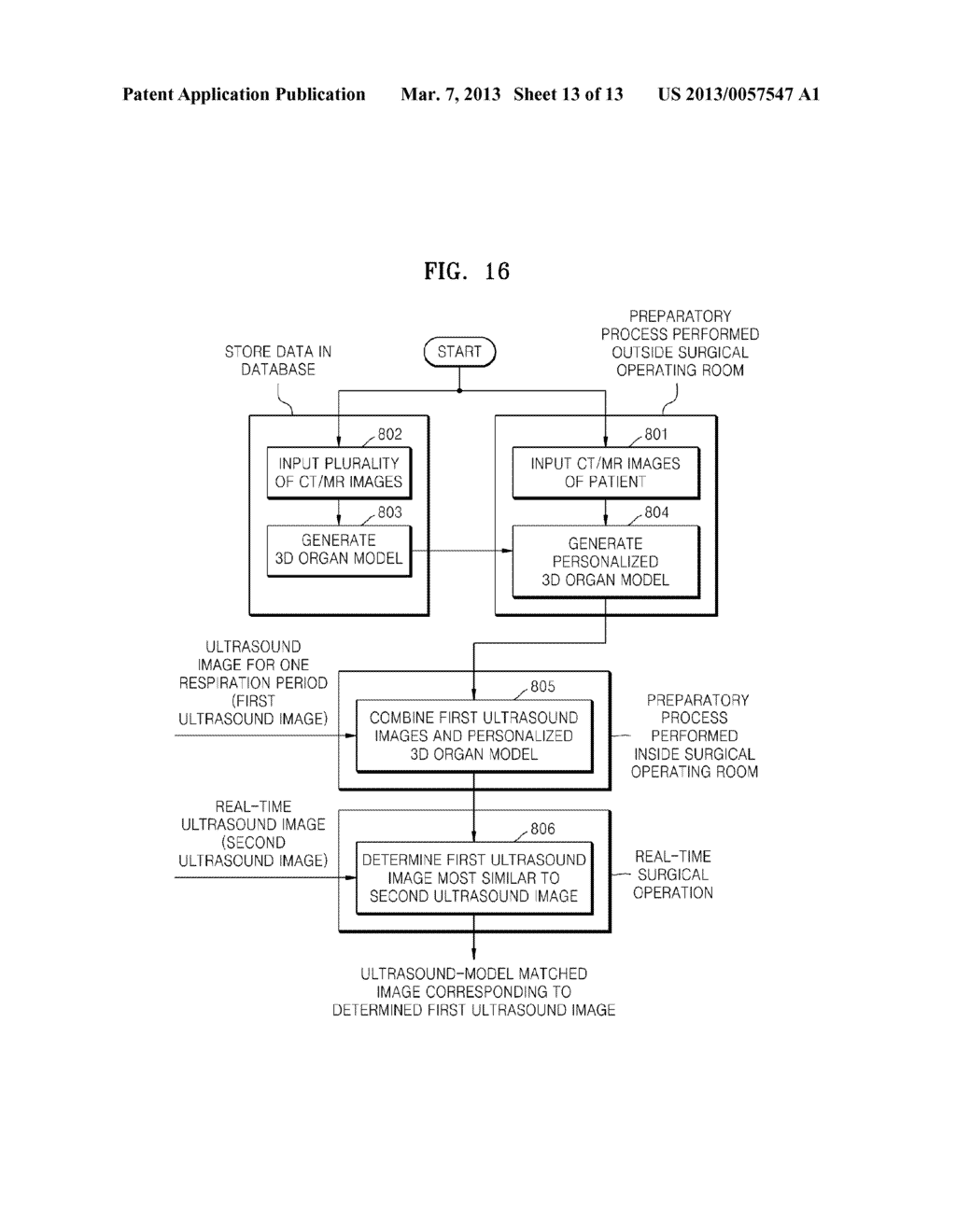 METHOD AND APPARATUS FOR GENERATING AN IMAGE OF AN ORGAN - diagram, schematic, and image 14