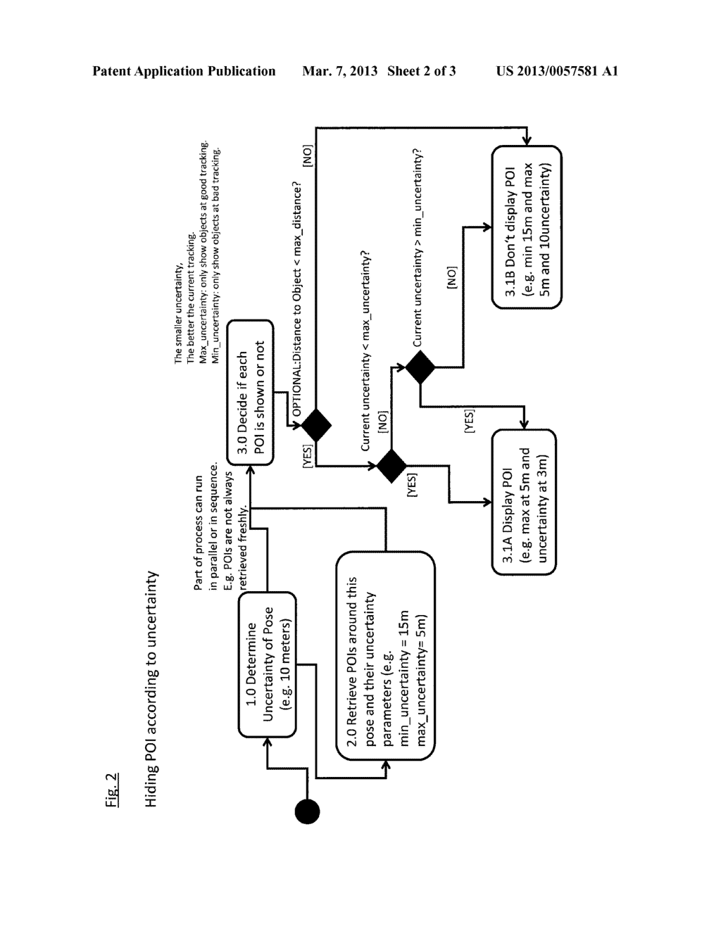 METHOD OF DISPLAYING VIRTUAL INFORMATION IN A VIEW OF A REAL ENVIRONMENT - diagram, schematic, and image 03