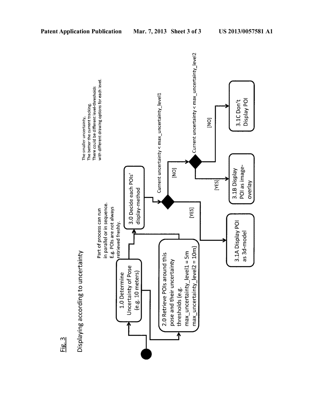 METHOD OF DISPLAYING VIRTUAL INFORMATION IN A VIEW OF A REAL ENVIRONMENT - diagram, schematic, and image 04