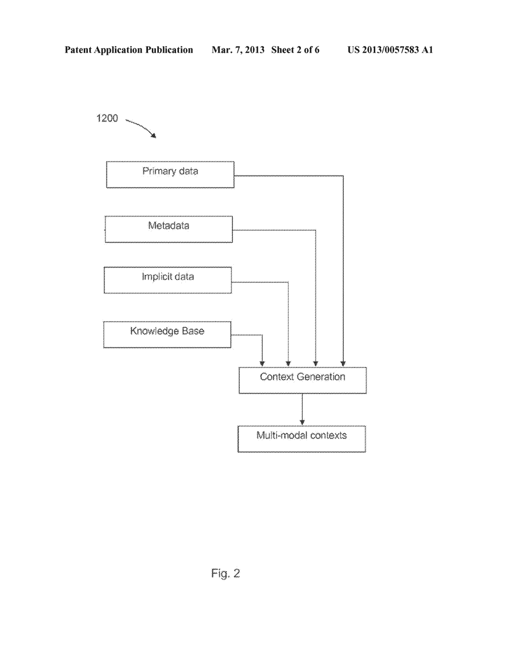 PROVIDING INFORMATION SERVICES RELATED TO MULTIMODAL INPUTS - diagram, schematic, and image 03